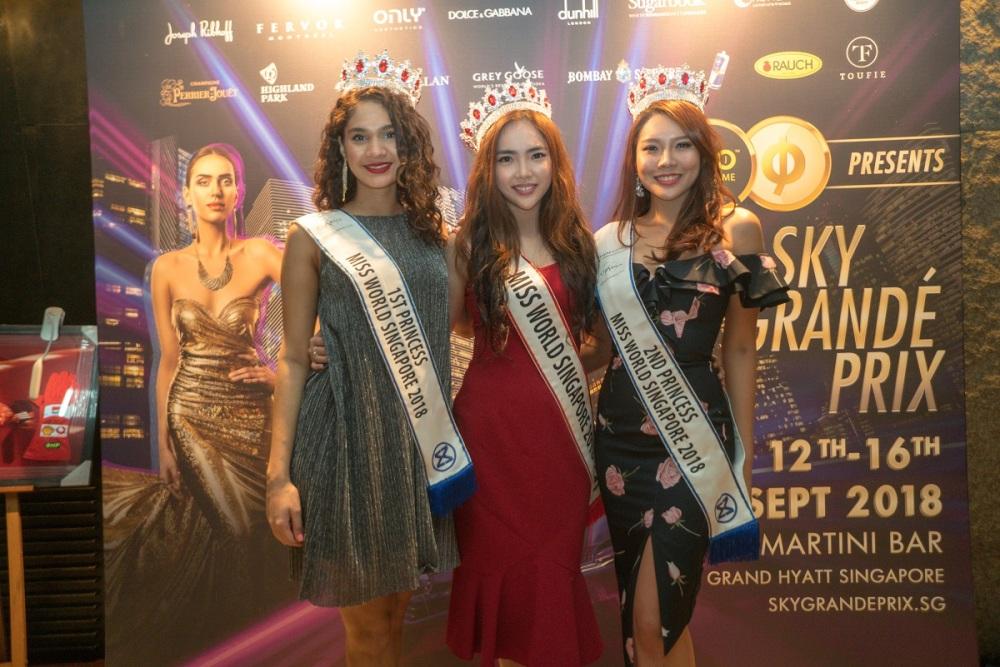 Miss World Singapore Winners