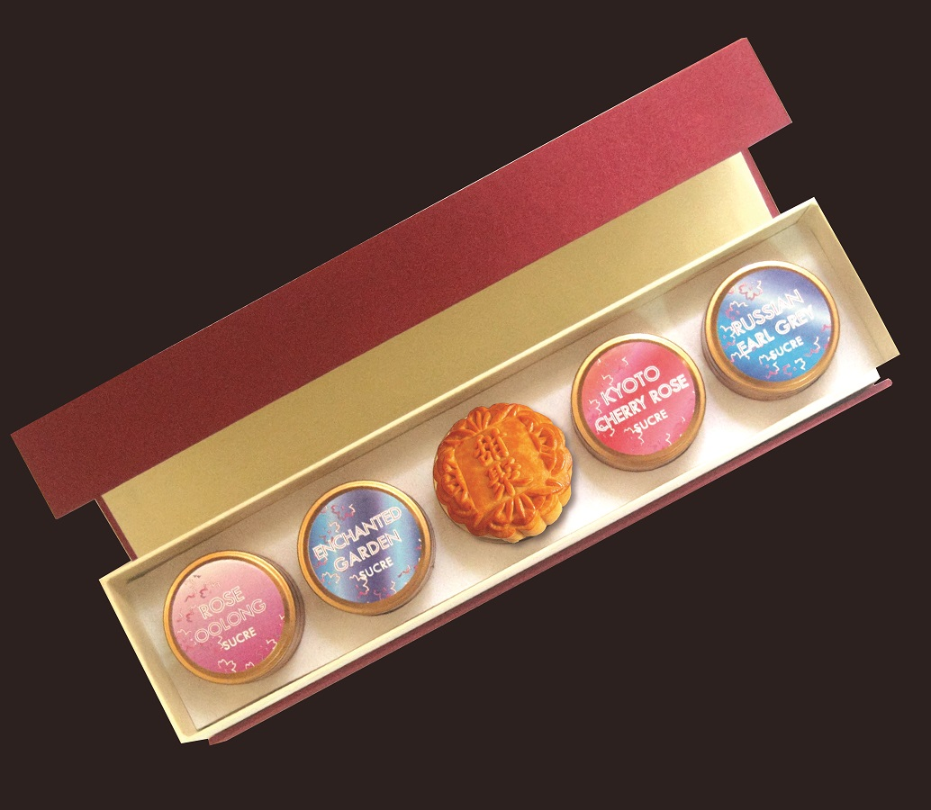 SUCRE Discovery Sampler Gift Set with mooncake