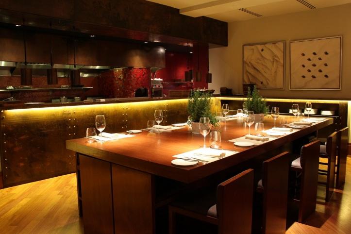 Four Seasons Hotel Singapore - One-Ninety Restaurant - Chef's Table