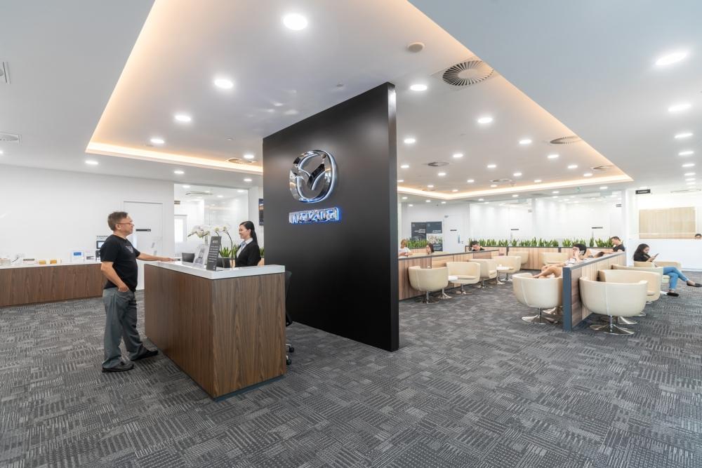 Mazda Customer Lounge 1