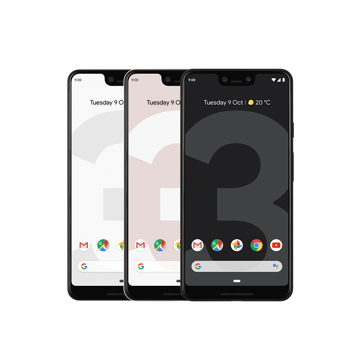 Pixel 3 XL combined