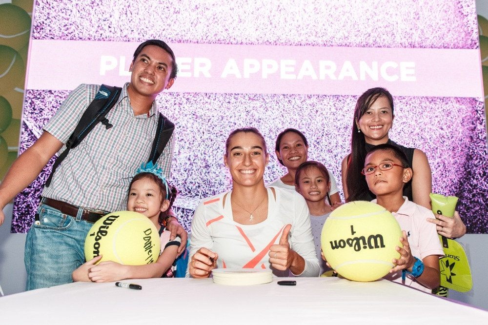 WTA Finals Fan Village 28