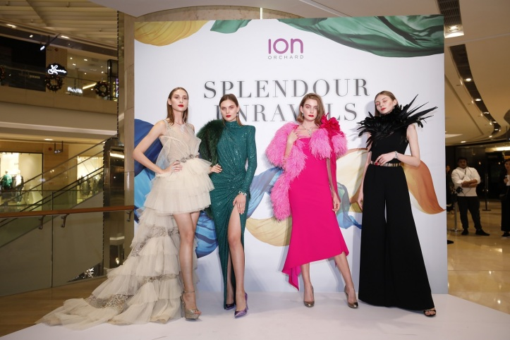 ION ORchard Level 3 Re-launch party - Fashion Show 4A