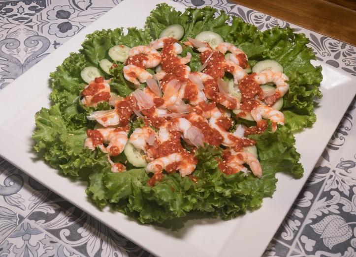 folklore_peranakan prawn salad