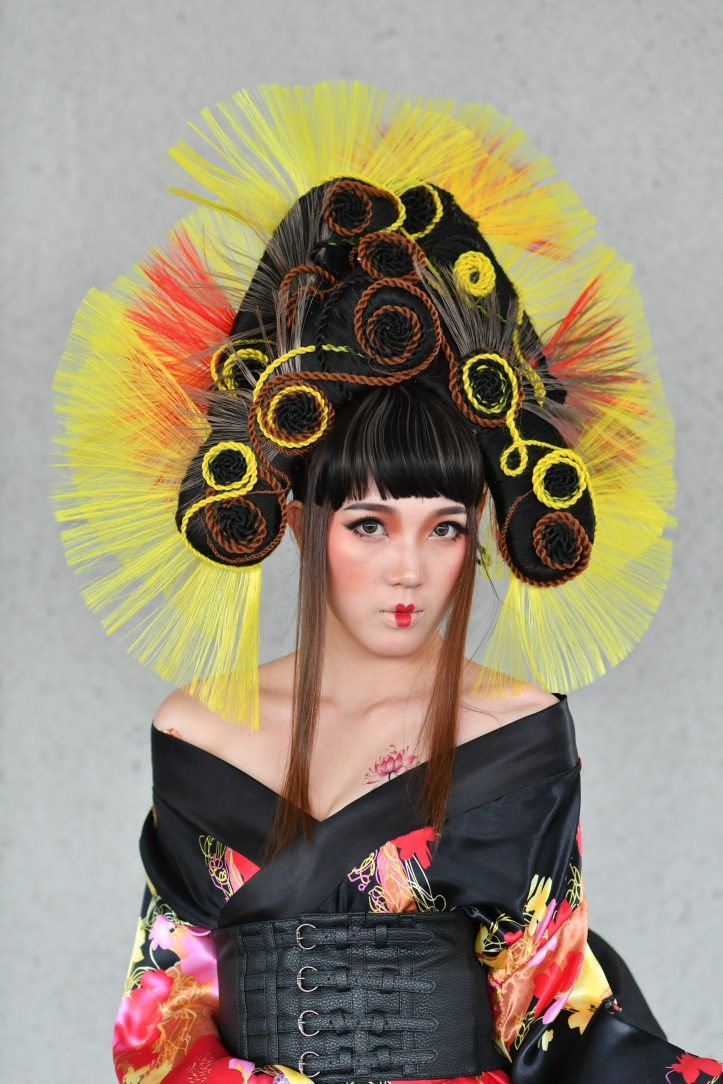 shiseido professional bia 2018-19 - top 5 finalist - thousand face sakura by elles lim, e-jean hair beauty & design