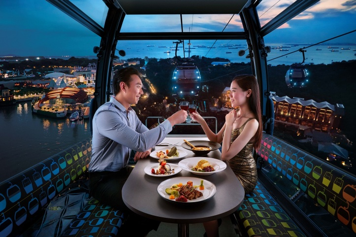 Cable Car Sky Dining - Stardust Standard Cabin