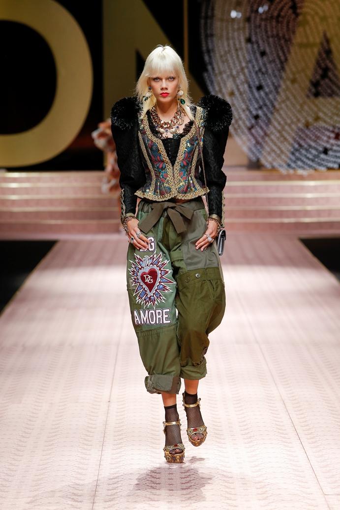 Dolce&Gabbana_Woman's fashion show_SS19 (108)