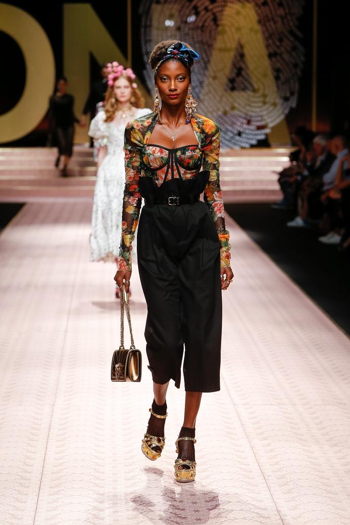 Dolce&Gabbana_Woman's fashion show_SS19 (117)