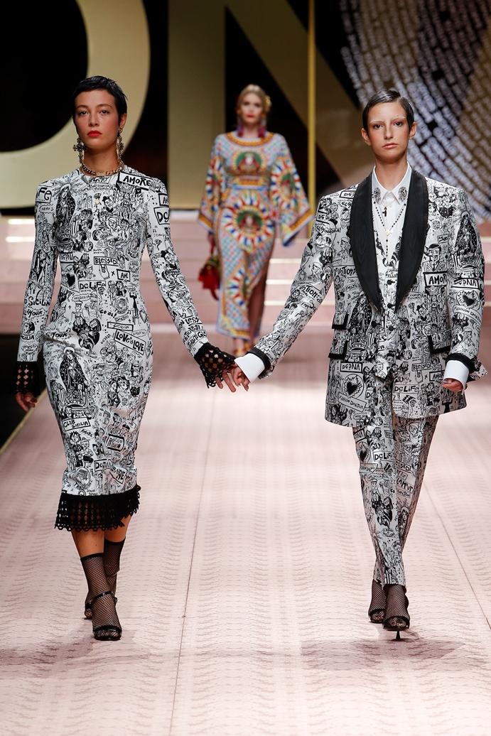 Dolce&Gabbana_Woman's fashion show_SS19 (12)