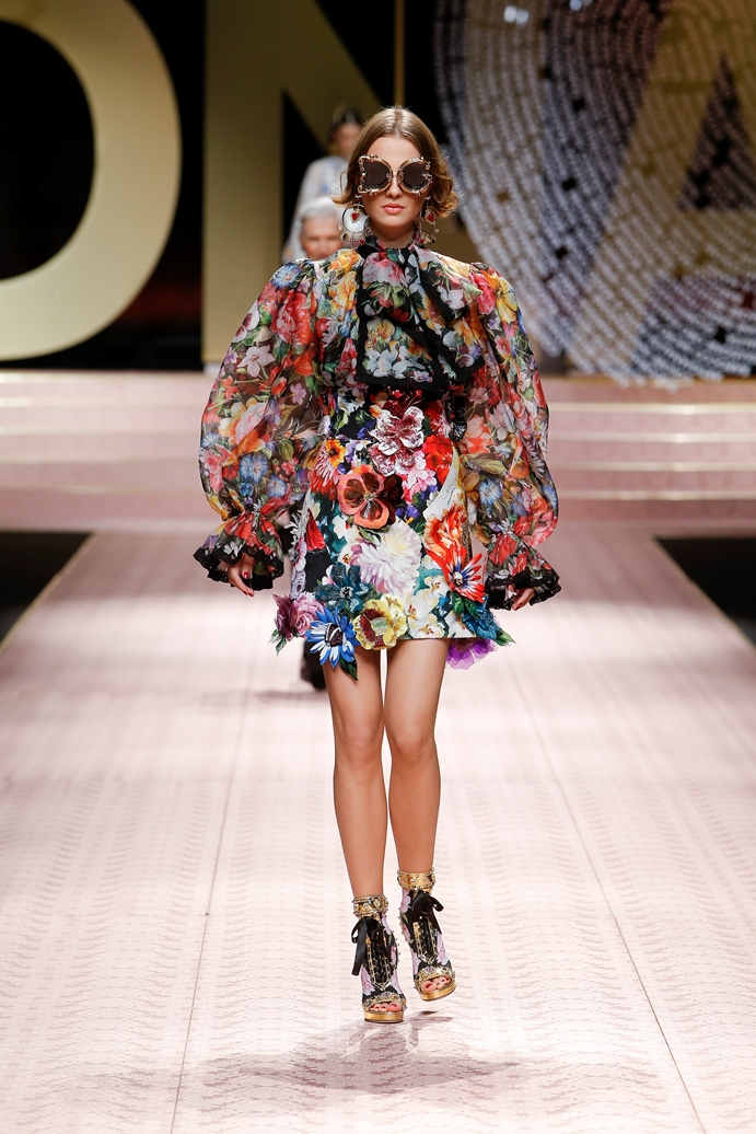 Dolce&Gabbana_Woman's fashion show_SS19 (26)