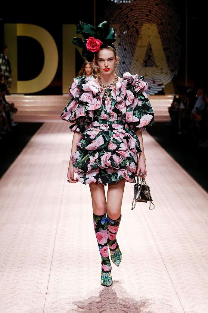 Dolce&Gabbana_Woman's fashion show_SS19 (68)