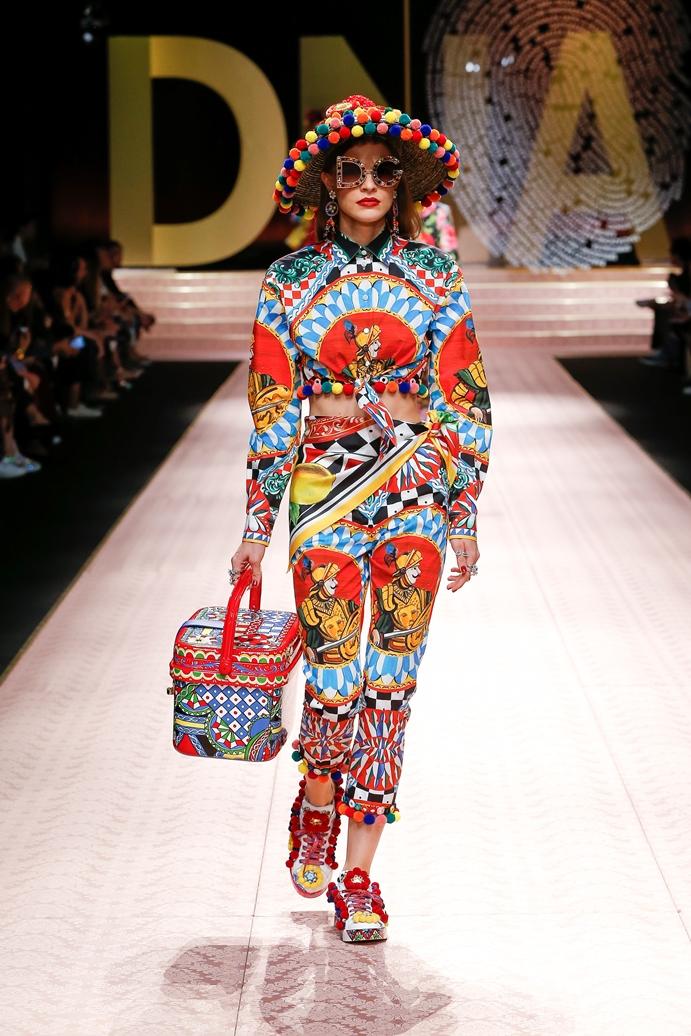 Dolce&Gabbana_Woman's fashion show_SS19 (94)