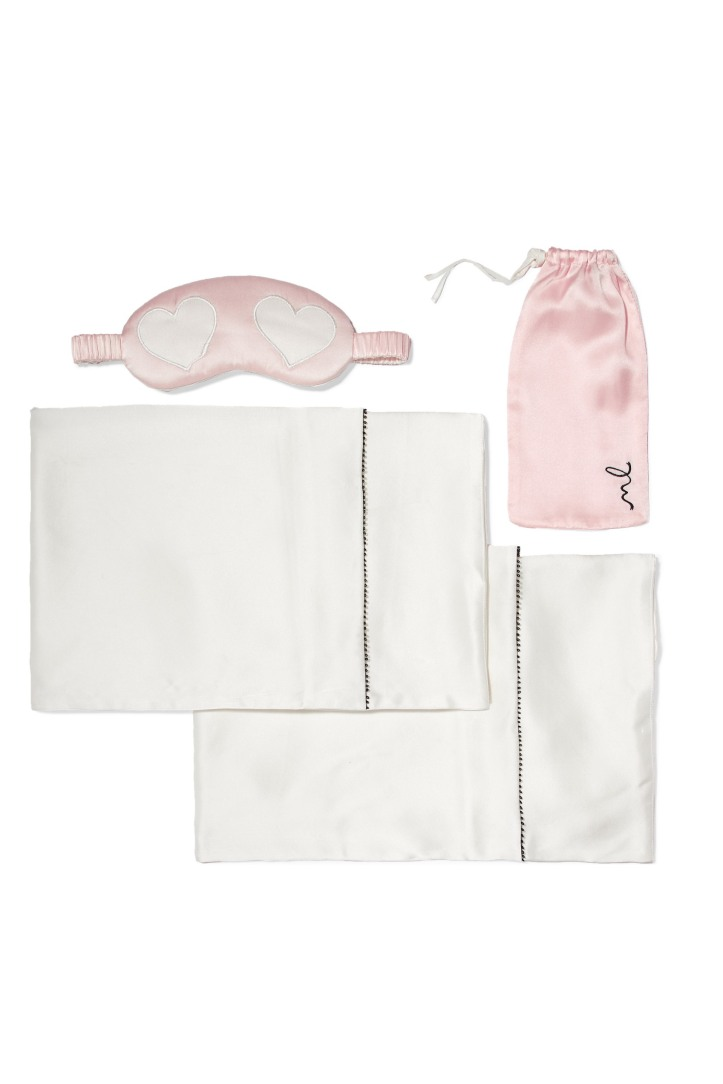 Silk-satin gift set