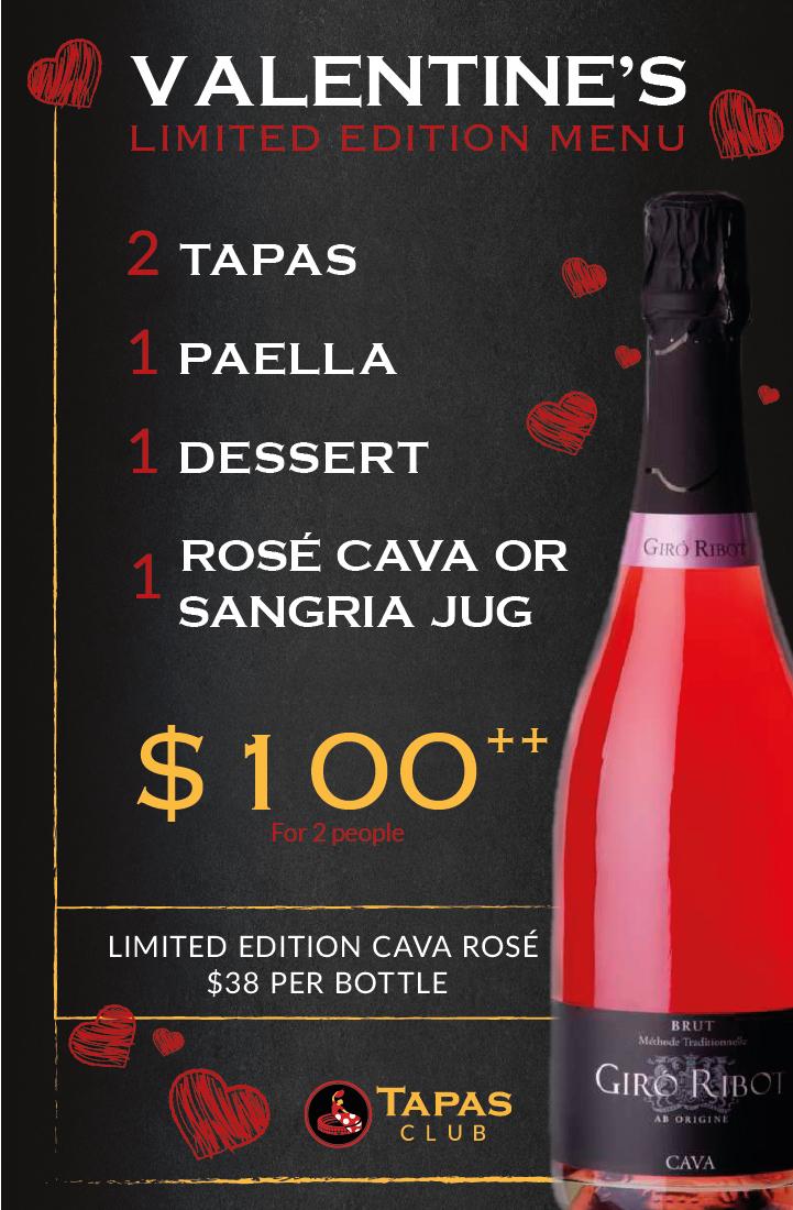 Newsletter_Special menu san valentin