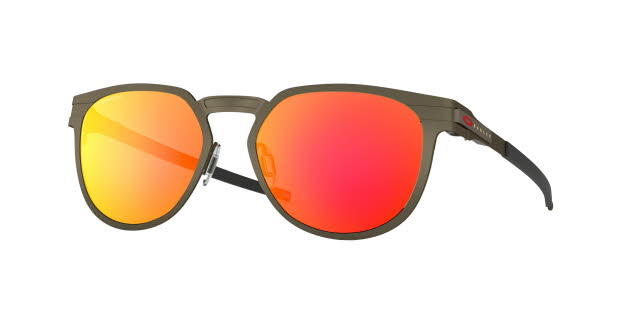 Oakley Diecutter Pewter with Prizm Ruby