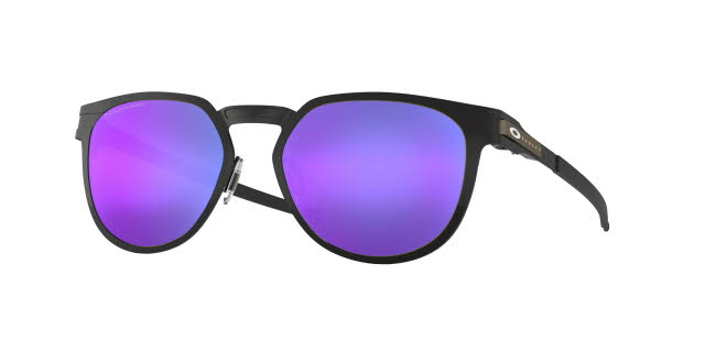 Oakley Diecutter Satin Black with Violet Iridium Polarized