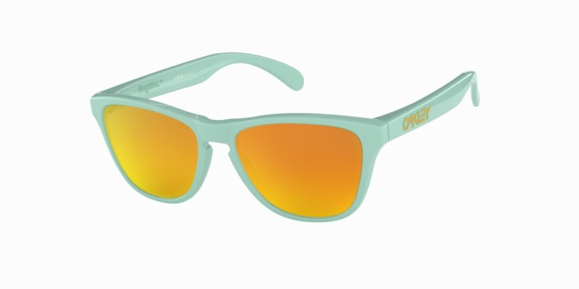Oakley Frogskins XS Arctic Surf With Fire Iridium