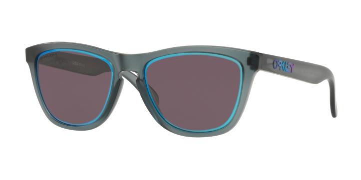 Oakley Ice Frogskins Matte Crystal Black With Prizm Grey Sapphire Alt Iridium