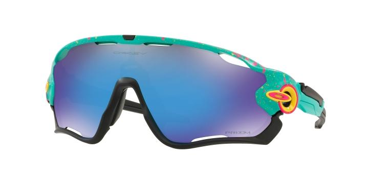 Oakley Jawbreaker Matte Celeste Splatter With Prizm Sapphire