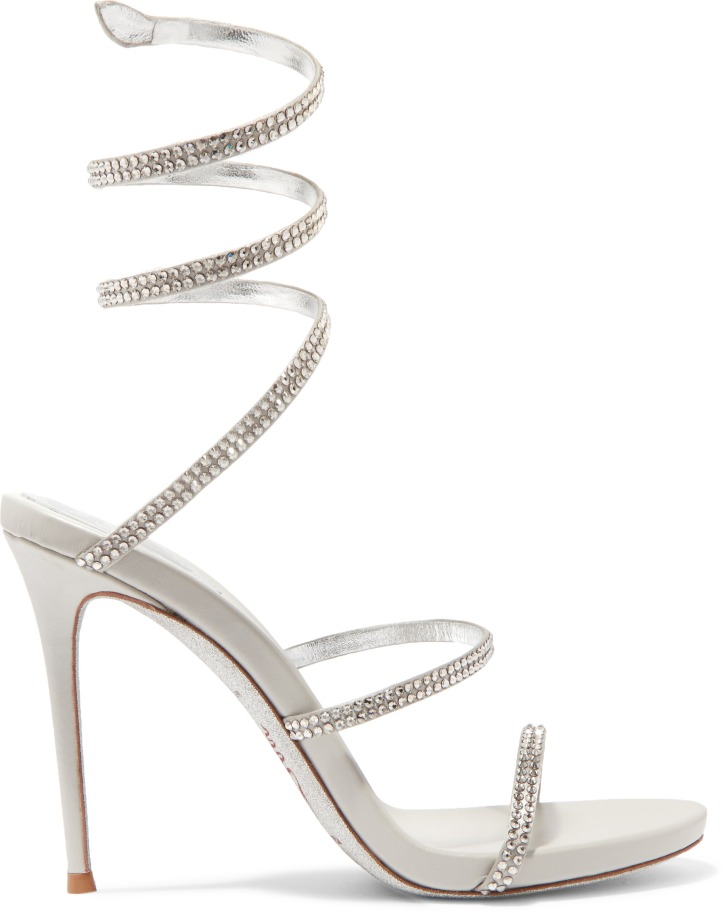 RENE CAOVILLA_CLEO CRYSTAL EMBELLISHED METALLIC LEATHER SANDALS_COURTESY OF NET-A-PORTER