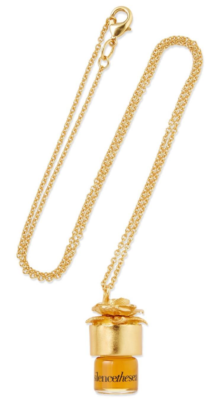 Perfume Oil Necklace - silencethesea, 1.25ml