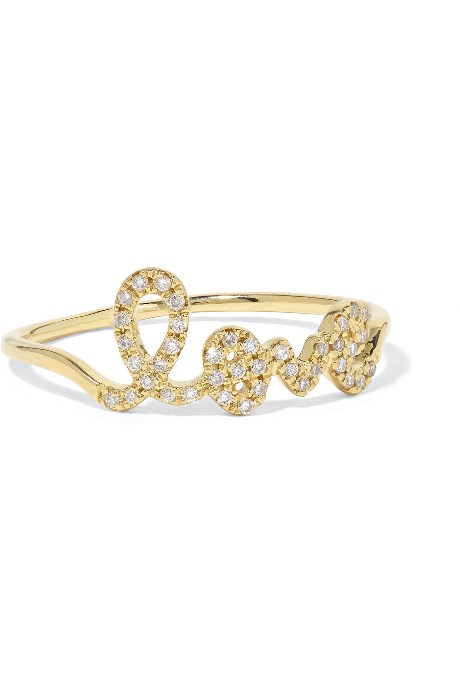 SYDNEY EVAN_LOVE 14 KARAT GOLD DIAMOND RING_COURTESY OF NET-A-PORTER