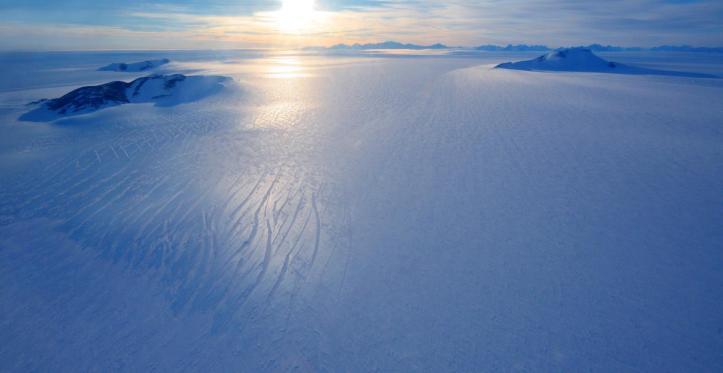 Blue Antarctica