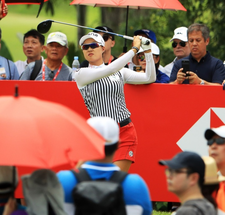 Minjee Lee during Round 3 of the HSBC Women's World  Championship1.jpg