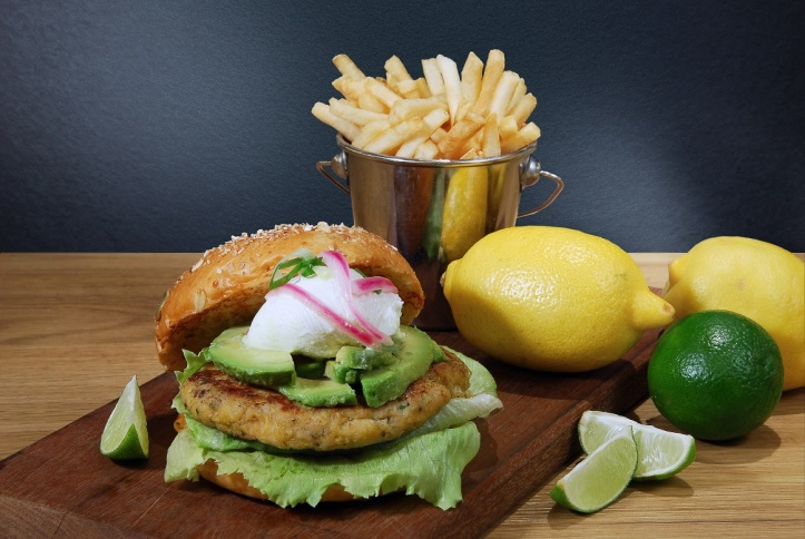 The Bondi Iceberg Burger