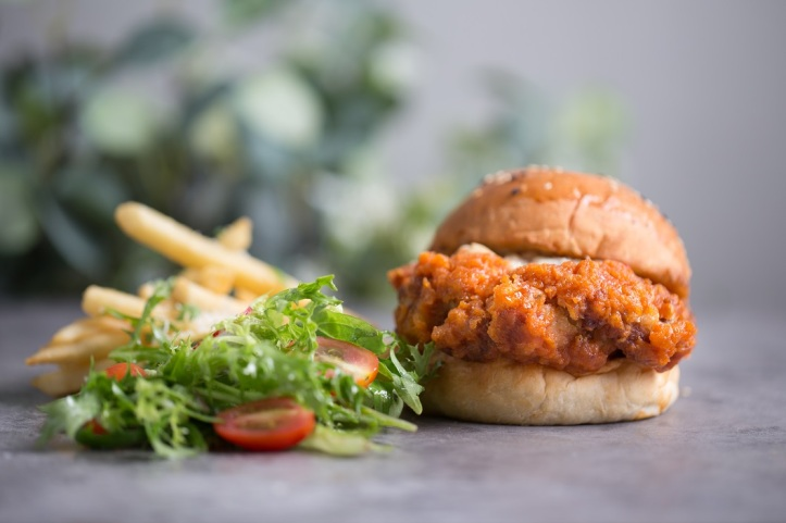 The Marmalade Pantry ION Orchard - Spicy Sriracha Chicken Burger