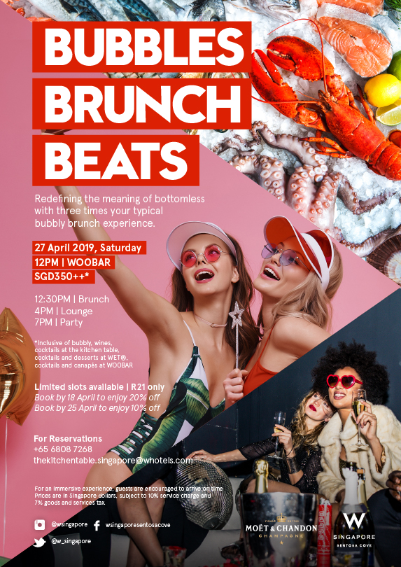 Brunch Bubbles Beats April 2019