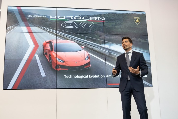 Davide Sfrecola, Area Manager Southeast Asia, Lamborghini Automobili