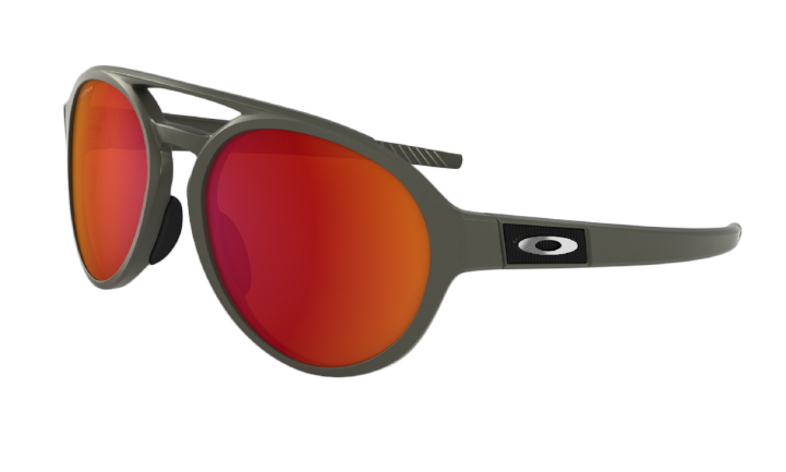 OAKLEY FORAGER MATTE OLIVE WITH PRIZM RUBY POLARIZED