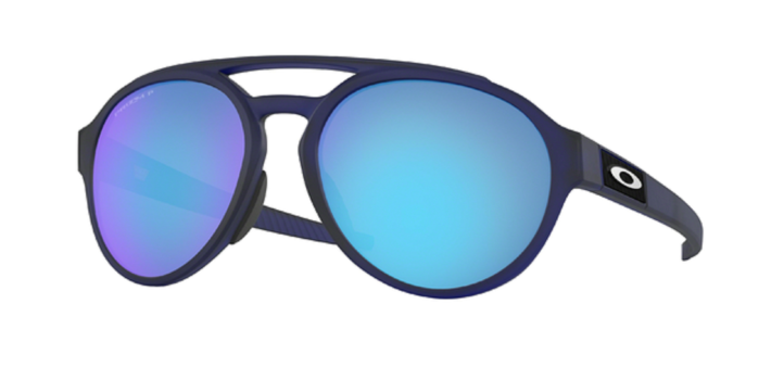 OAKLEY FORAGER MATTE TRANSLUCENT BLUE WITH PRIZM SAPPHIRE POLARIZED