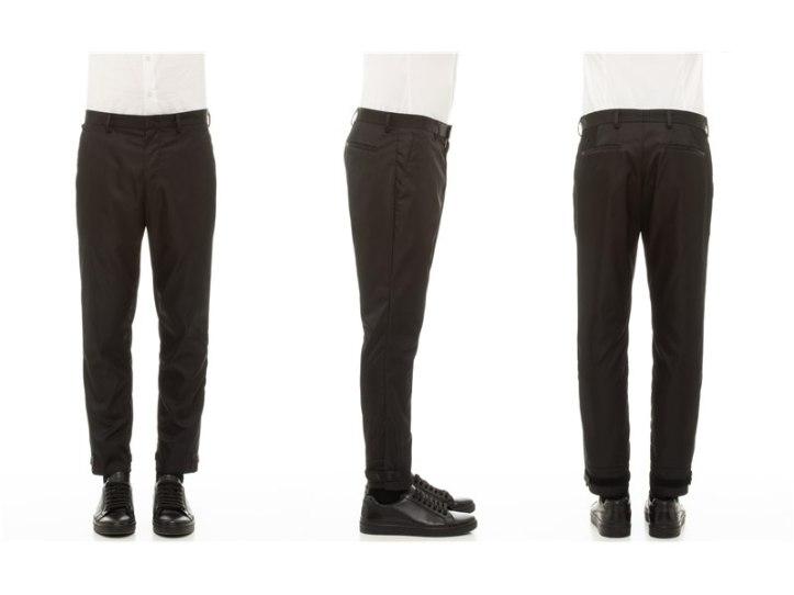 Prada Garbadine Nylon Pants, SGD1280