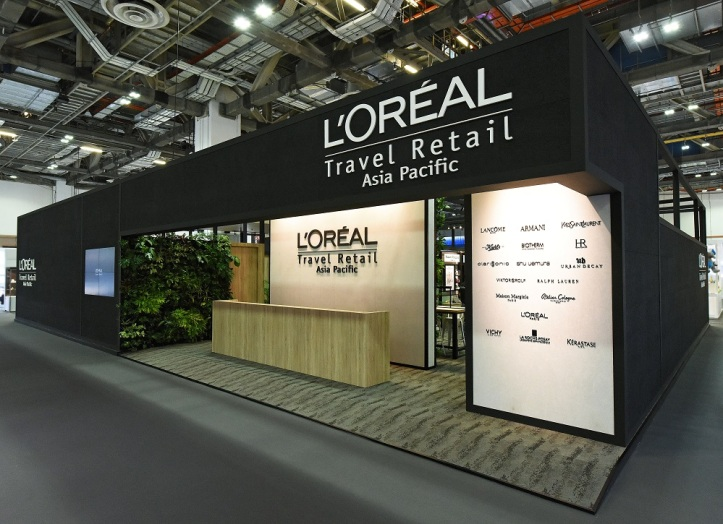 L'Oreal TFWA Booth_Exterior