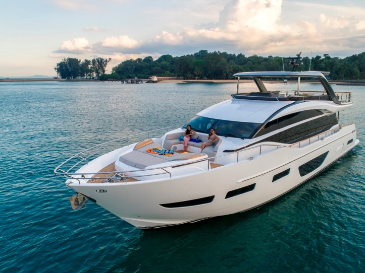 The All New Princess Yachts Y85 Flagship Flybridge Motor Yacht