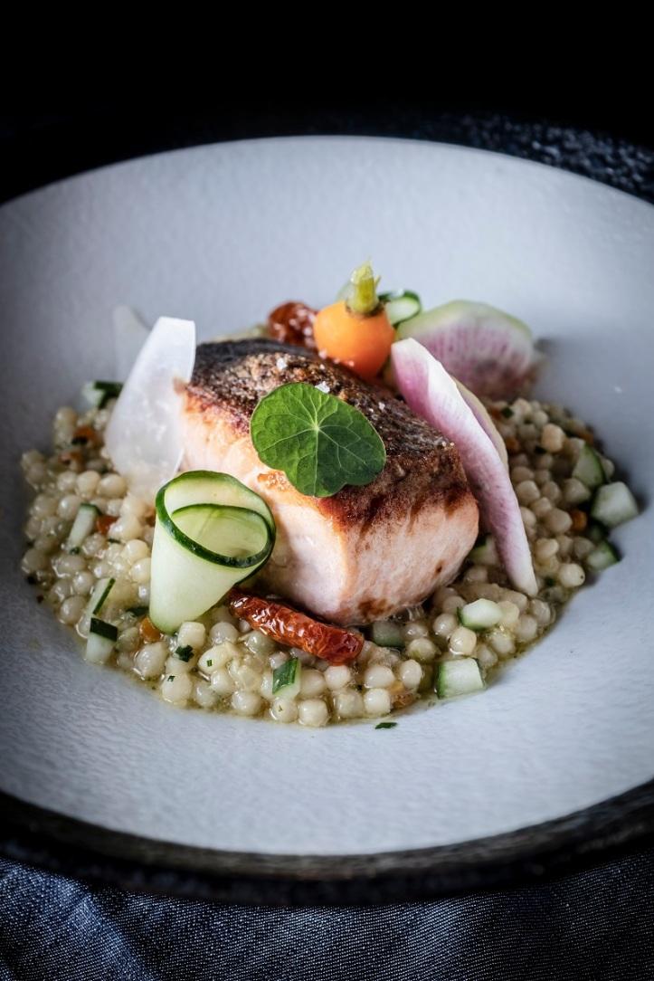 Salmon & Pearl