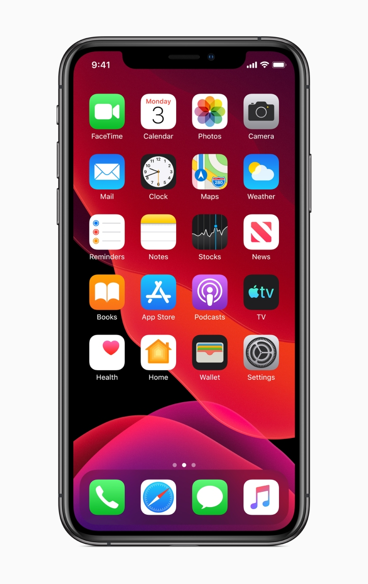 Apple-ios-13-home-screen-iphone-xs-06032019