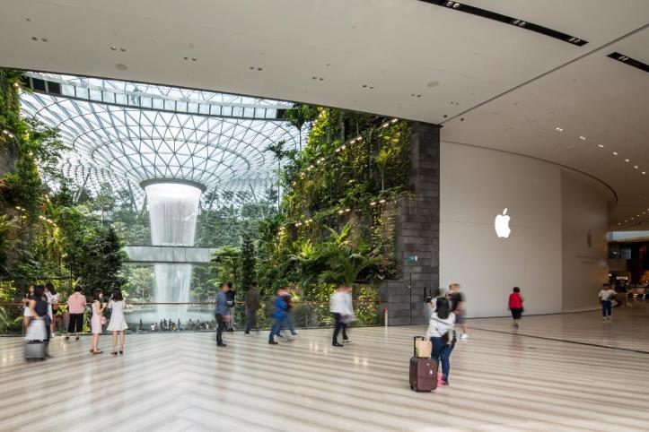 apple jewel changi airport