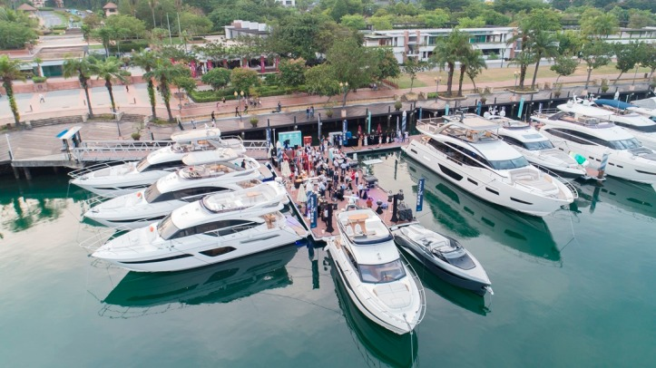 Asia Launch of Princess Yachts (12)