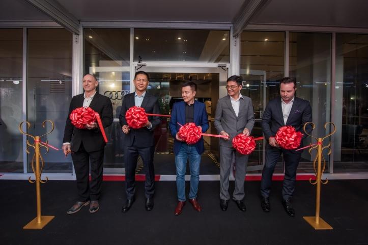Audi Service Centre ribbon-cutting ceremony (1)