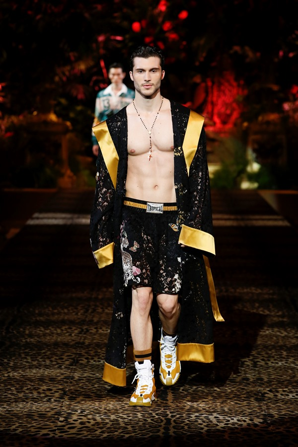 Dolce&Gabbana Men's Fashion Show Spring-Summer 2020 (102)