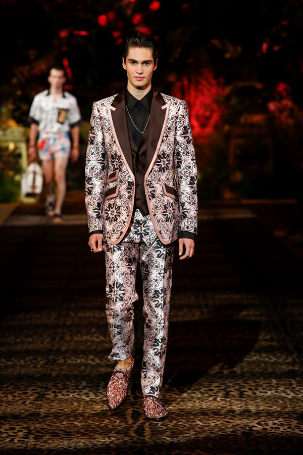 Dolce&Gabbana Men's Fashion Show Spring-Summer 2020 (108)