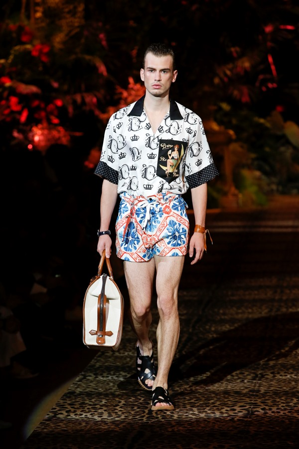 Dolce&Gabbana Men's Fashion Show Spring-Summer 2020 (109)