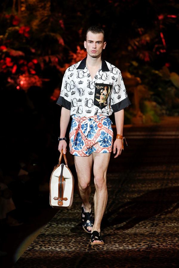 Dolce&Gabbana Men's Fashion Show Spring-Summer 2020 (109)