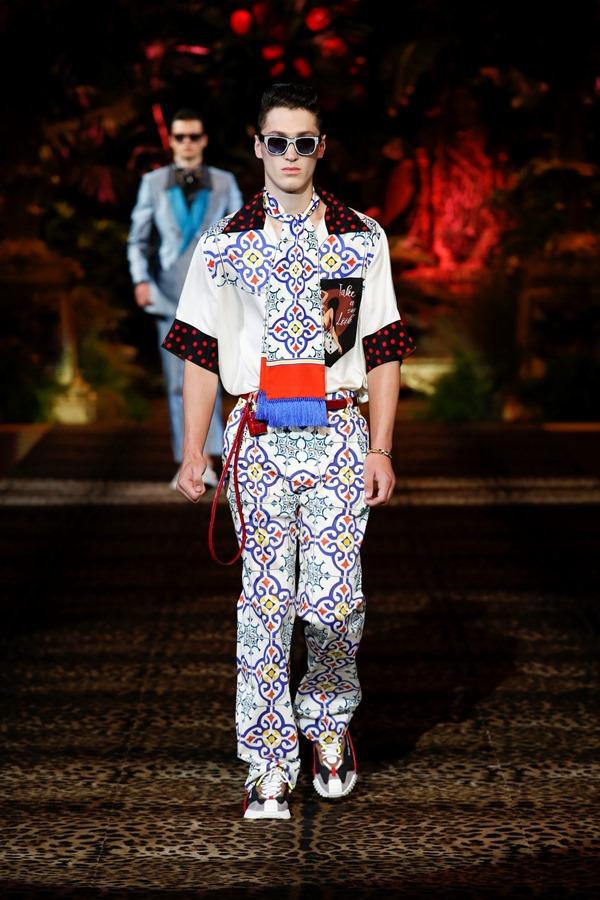 Dolce&Gabbana Men's Fashion Show Spring-Summer 2020 (114)