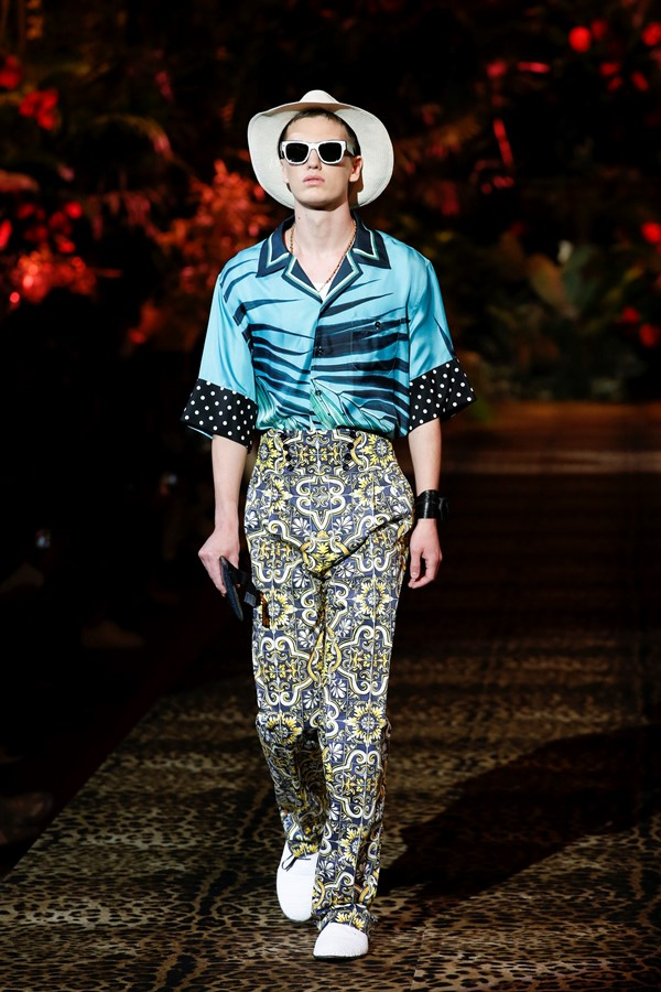 Dolce&Gabbana Men's Fashion Show Spring-Summer 2020 (118)