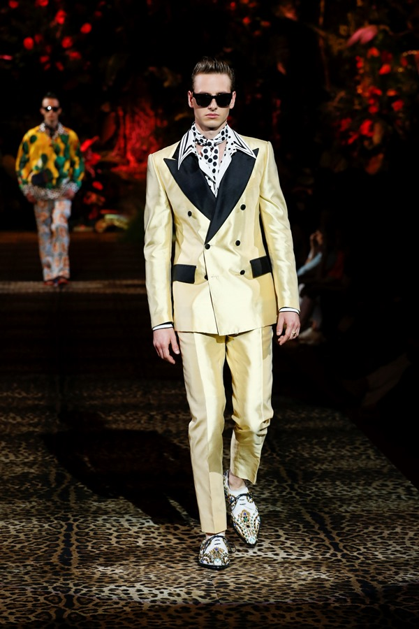 Dolce&Gabbana Men's Fashion Show Spring-Summer 2020 (119)