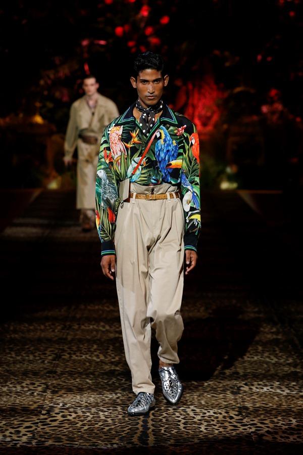 Dolce&Gabbana Men's Fashion Show Spring-Summer 2020 (12)